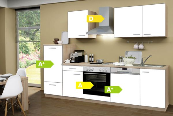 Menke Küchenzeile Classic ~ menke küchen küchenzeile classic 280 cm, küchenblock, küche, küchenmöbel ebay