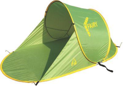 Best Camp  Pop Up Strandmuschel Fairy grün/dunkelgrün