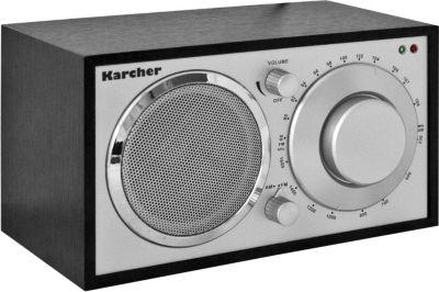Karcher KA230-S Retro Radio - schwarz