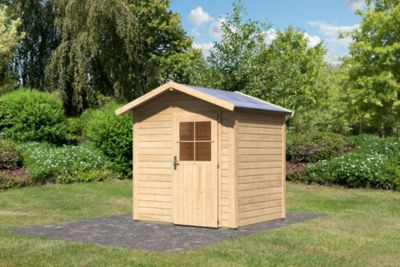 Woodfeeling Linau 2 Gartenhaus naturbelassen