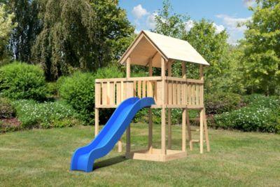 Findus Spielturm mit Anbau und Rutsche