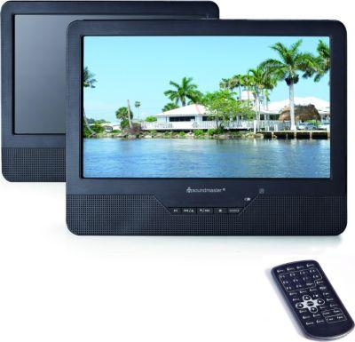 PDB1800 tragbarer Dual-DVD-Player mit 22,86 cm (9 Zoll) TFT-LCD-Bildschirm