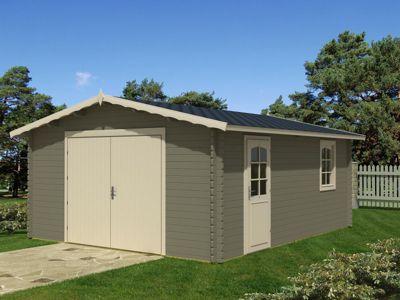 Tene Kaubandus 40-B 40 mm Holzgarage | Baumarkt > Garagen und Carports > Garagen | Holz | Tene Kaubandus