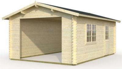 Palmako Roger 23,9 m² Garage | Baumarkt > Garagen und Carports > Garagen | Palmako