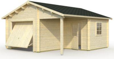 Palmako  Garage Roger 21,9 m² mit Sektionaltor