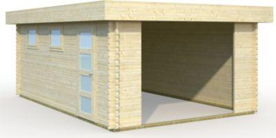 Palmako  Garage Rasmus 19,0 m² ohne Tor