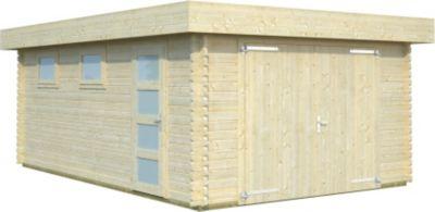 Palmako  Garage Rasmus 19,0 m² mit Holztor