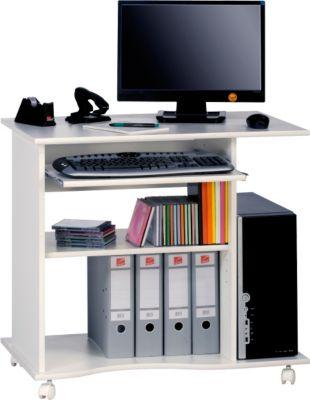 Maja Computertisch 4024, Weiß-Uni