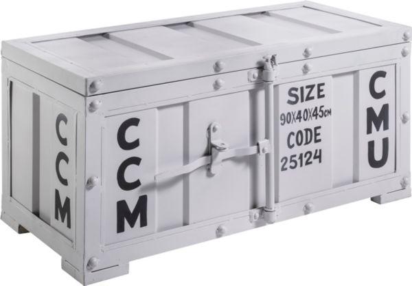 yendoo truhe container aufbewahrung kiste metall stauraumelement metall ebay. Black Bedroom Furniture Sets. Home Design Ideas