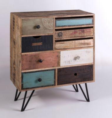 schmale kommode von yendoo aus mangoholz nur 239 95 cherry m bel plus. Black Bedroom Furniture Sets. Home Design Ideas