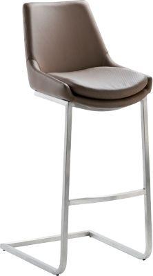 Design-Barhocker-Schwingstuhl 1121, mocca