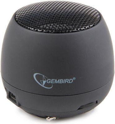 Gembird  SPK-103 portabler Lautsprecher in schwarz