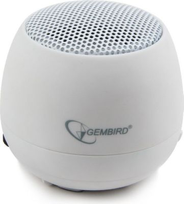 Gembird  SPK-103-W portabler Lautsprecher in weiß