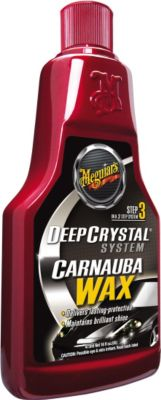 Meguiar´s Deep Crystal Carnauba-Wax Step 3