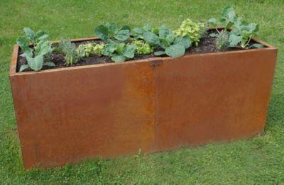 Hochbeet Edelrost, 196x98x78 cm