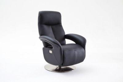 MCA Relax-Sessel Roman Leder - schwarz
