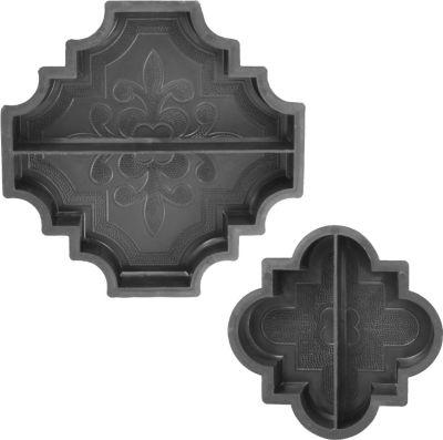 Sonstiges Betonform Orient, Randstück 29,5 x 29,5 x 4,5 cm