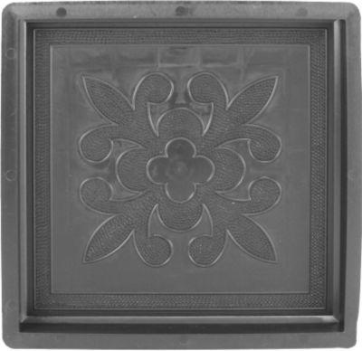 Sonstiges Betonform Holz französische Lilie 30 x 30 x 3 cm