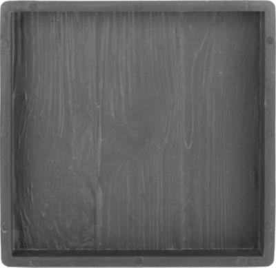 Sonstiges Betonform Holz, 30 x 30 x 3 cm