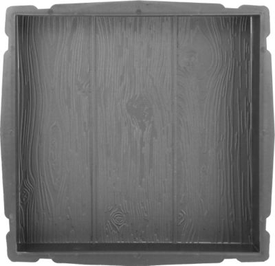 Sonstiges Betonform Holz, 40 x 40 x 5 cm