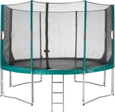 Etan  High Flyer Trampolin-Set 430 cm incl. Sicherheitsnetz und Leiter