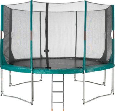 Etan  High Flyer Trampolin-Set 300 cm incl. Sicherheitsnetz und Leiter