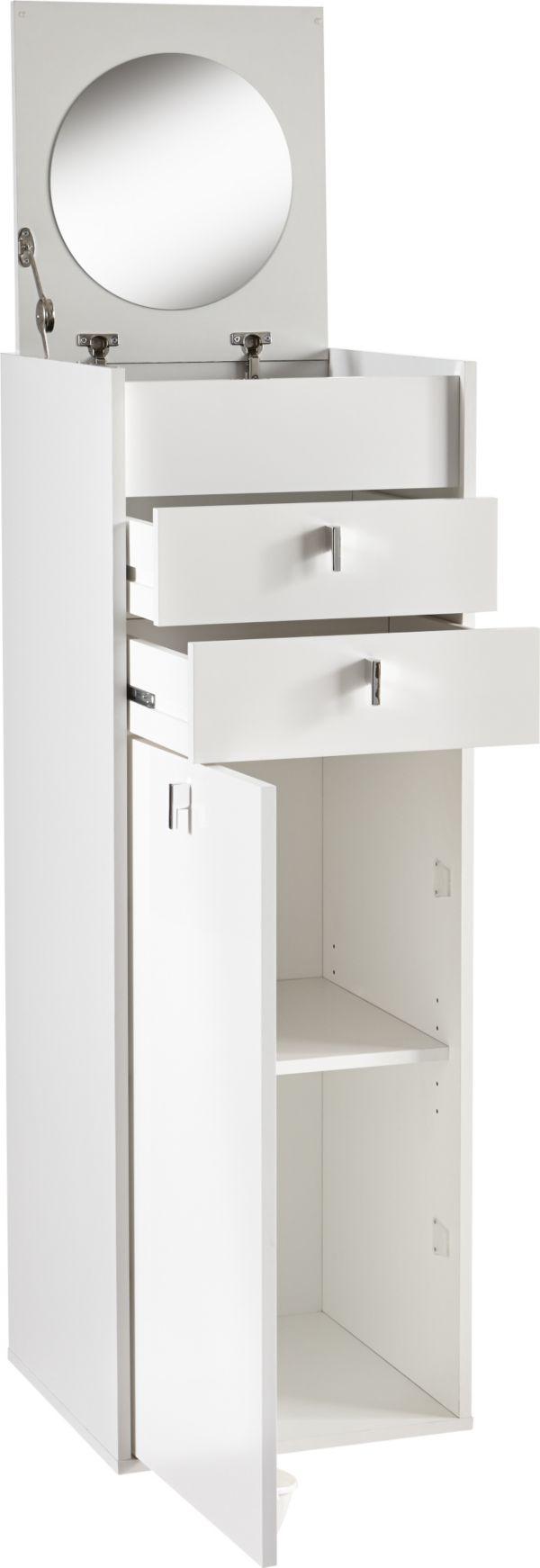 demeyere schminkschrank schminkkommode beauty frisiertisch spiegel wei. Black Bedroom Furniture Sets. Home Design Ideas