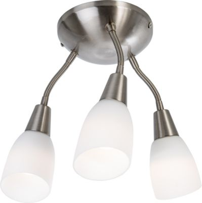 Nino Leuchten LED-Deckenleuchte Kimsky, 3-flammig
