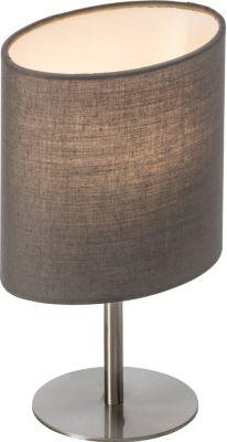 Nino Leuchten LED-Tischleuchte Spring, grau