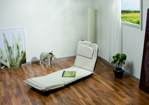 Loungeliege relaxliege entspannungsliege welnessliege liege verstellbar ebay for Relaxliege verstellbar