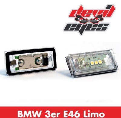 LED Kennzeichenbeleuchtung, BMW 3er E46 Limousine