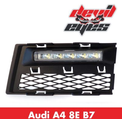 LED Tagfahrlicht, Audi A4 8E Typ B7