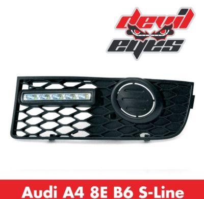 LED Tagfahrlicht, Audi A4 8E B6 S-Line