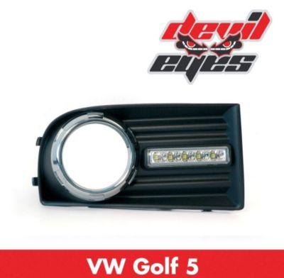 LED Tagfahrlicht, VW Golf 5+Nebel