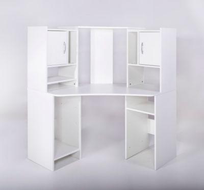 Möbelvertriebs Eckschreibtisch Dornhagen, Weiß