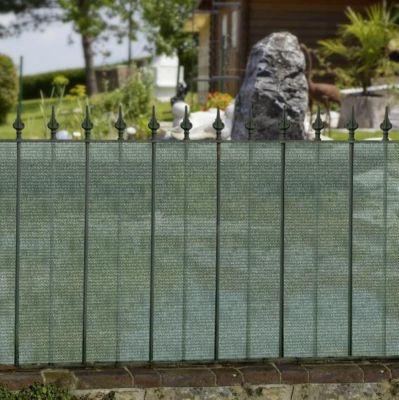 Sichtschutzblende 500 x 100 cm grün