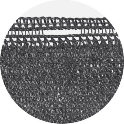 Zaunblende 500 x 80 cm grau