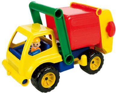 Aktive Müllwagen