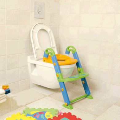 Toilettentrainer Kidskit 3-in-1 Bunt