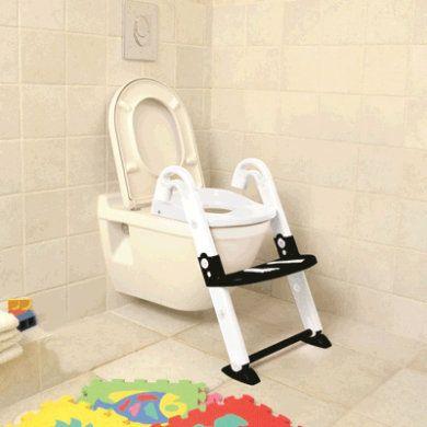 Toilettentrainer Kidskit 3-in-1 Schwarz
