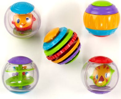 HCM Bright Starts - Shake & Spin Activity Balls