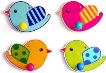 Garderobe - Vögel