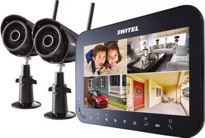 HS 1000 drahtloses Video-Überwachungssystem mit 2 Kameras