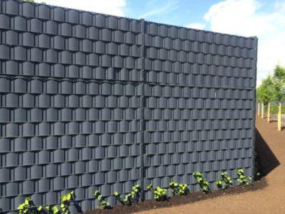 FVG professional gardening FVG Sichtschutzstreifen für Gittermattenzäune, steingrau