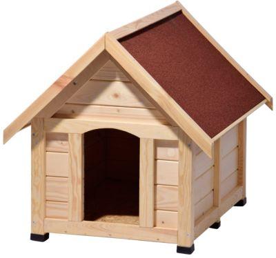 Dobar  55010 Outdoor-Hundehütte, 112 x 97 x 104 cm