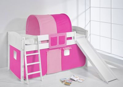 Spielbett IDA 4106 Rosa Rosa