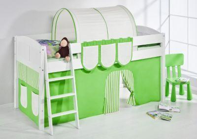 Spielbett IDA 4106 Grün Beige