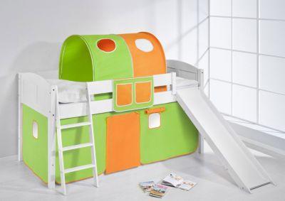 Spielbett IDA 4106 Grün Orange