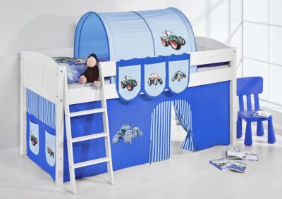 Spielbett IDA 4106 Trecker Blau