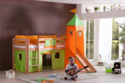 Kinderbett Alex mit Rutsche